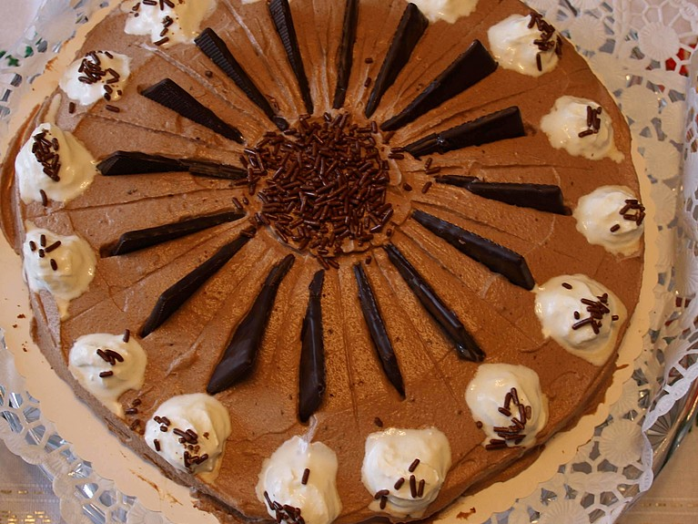 Rezept - After-Eight-Torte