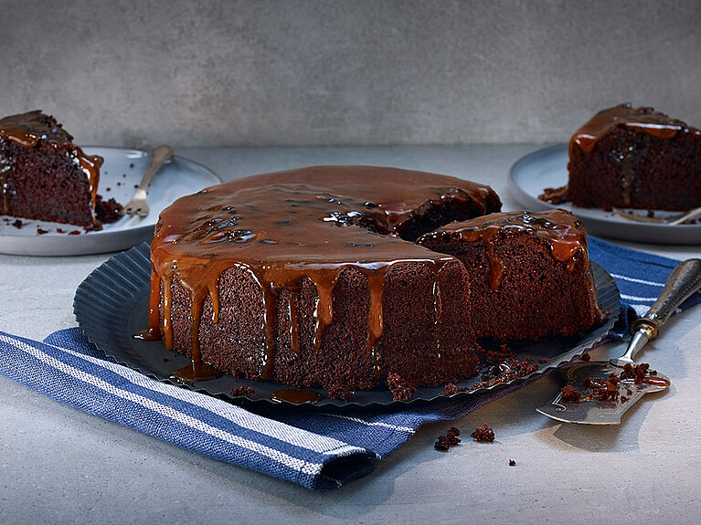 Rezept - Chocolate Fudge Cake