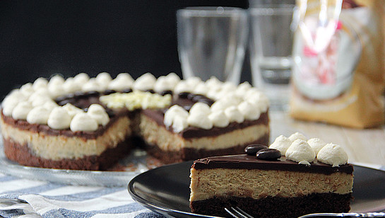 Rezept - Schoko Latte Cheesecake