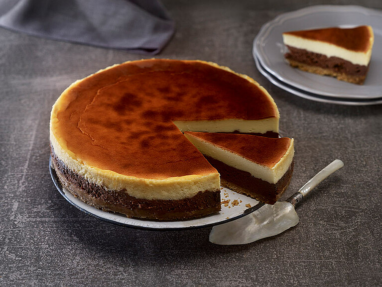 Rezept - New York Double Cheesecake