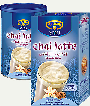 krüger chai latte vanille zimt