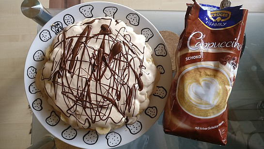 Rezept - Bacoffee Pie