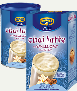 KRÜGER YOU chai latte Vanille-Zimt